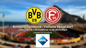 Borussia Dortmund vs. Fortuna Düsseldorf | Friendly from Gibraltar | ReLive