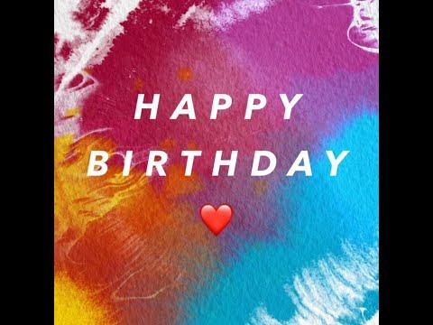 Happy Birthday My Ga! 🎁🎈