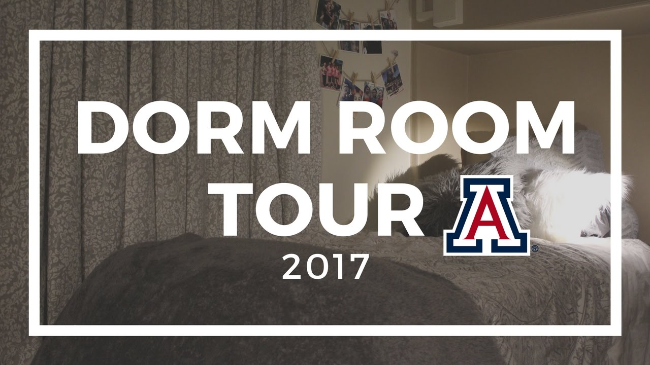 DORM TOUR 2017 | UNIVERSITY OF ARIZONA Part 33