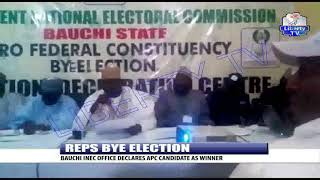 Reps Bye Election: Bauchi INEC Office Declares APC Candidate As Winner