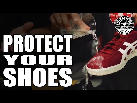 How To Make Your Shoes Waterproof - Detailing Tips & Tricks - Chemical Guys Fabric Guard