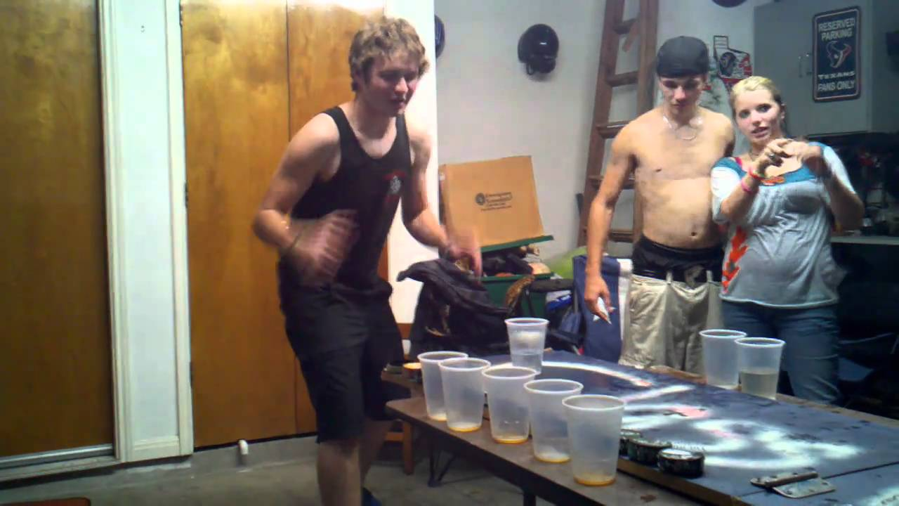 Final, sorry, Naked lap beer pong not so