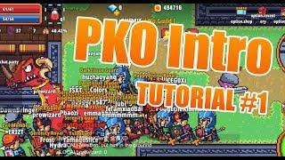 Pixel Knights Online - Basic Tutorial #1