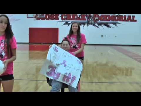 2013 PINK OUT DAY Goose Creek Memorial High School, Baytown, TX