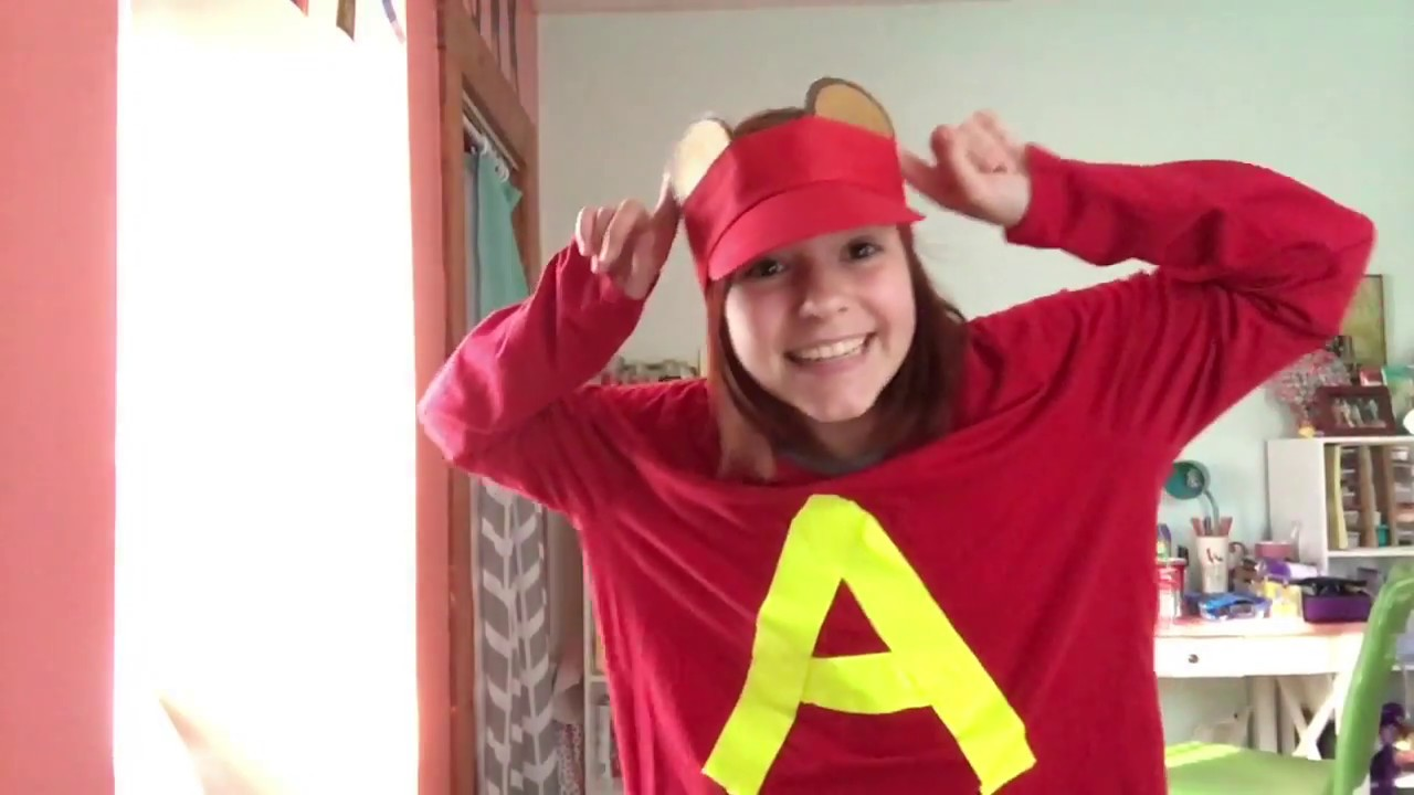 Diy Alvin And The Chipmunks Costume Youtube