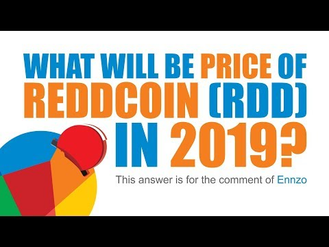 What will be the Price of Reddcoin (Rdd) in 2019?