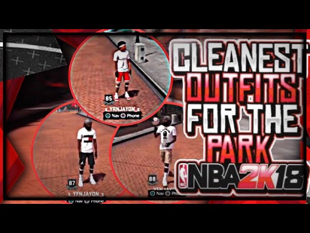 Saucy outfits for my park nba2k18!