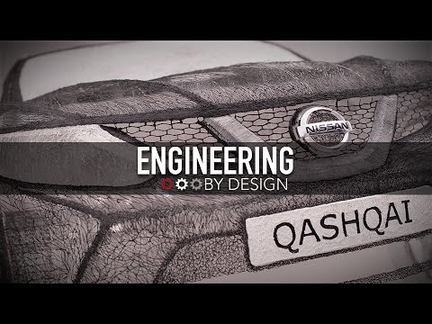 Engineering By Design: Nissan Builds Car Using 8.6 Miles of Plastic Strands