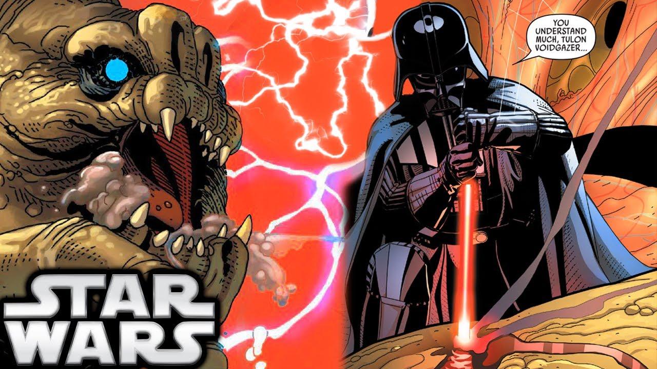 Darth Vader Canon Vs Ares Dceu: How Darth Vader Slaughtered A Rancor (Canon)