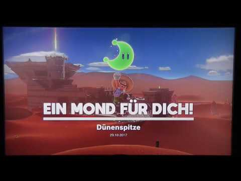Lets Play Super Mario Odyssey 100 Part 3 Wüstenland Youtube
