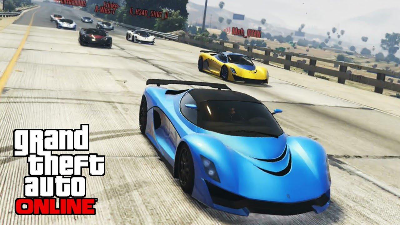 GTA 5 - Insane Racing Battle #3 - Turismo R - YouTube