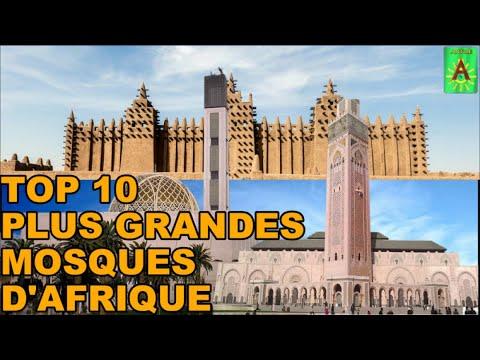 Top 10 des plus grandes mosque Afrique (Antile Mali)