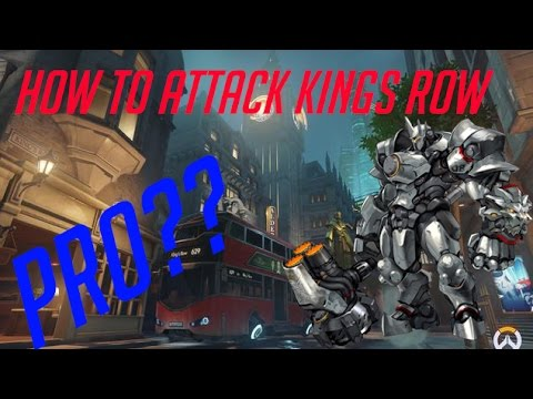 HOW TO CAPTURE THE FIRST POINT OF KINGS ROW IN OVERTIME