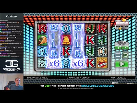 Casino Slots Live - 30/03/18 *High Roll, Mega Comeback & Charity Donation!!*