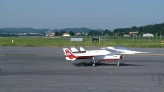 NASA Airplane Rockwell HiMAT RPRV 870 Experimental Vector thrust RC Aircraft