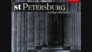 Male Choir St. Petersburg: Cherubic Hymn