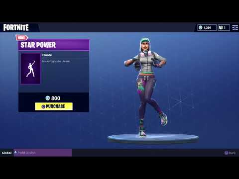 FORTNITE STAR POWER EMOTE! (1 HOUR)