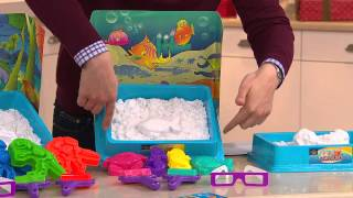 Repeat youtube video Sands Alive! Molding and Sculpting Reusable Sand Set with Alberti Popaj