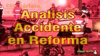 El análisis de seguridad en el accidente del BMW en Paseo de la Reforma en CDMX