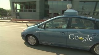 CNN test-drives Googles self-driving car
