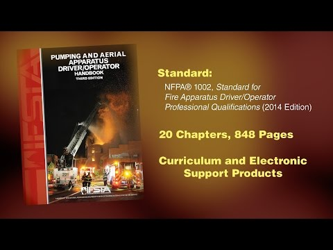Pumping And Aerial Apparatus Driver Operator Handbook 3rd Edition