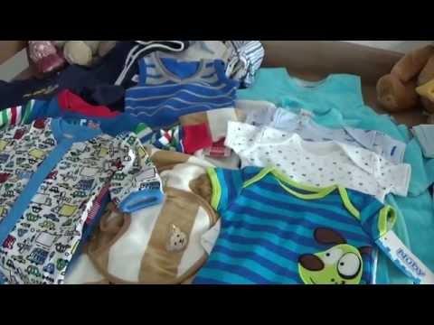 Мои покупки. Одежда для новорожденного из Германии. Одежда для мальчика