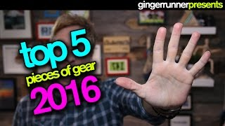 TOP 5 FAVORITE PIECES OF RUNNING GEAR 2016 | The Ginger Runner