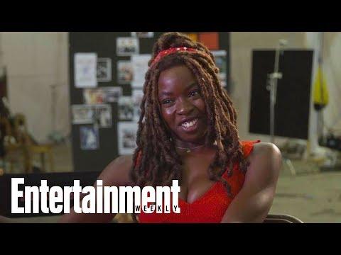 Danai Gurira Reflects On Killing Hundreds Of Walkers With Her Katana   Entertainment Weekly