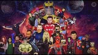HILARIOUS AVENGERS: INFINITY WAR PARODY! Epic Marvel Movie Spoof - MELF