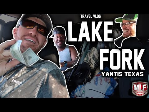 2020 Major League Fishing BPT Travel VLOG - Lake Fork