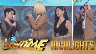 It's Showtime: Vice and Anne give Amy Perez a touching birthday message