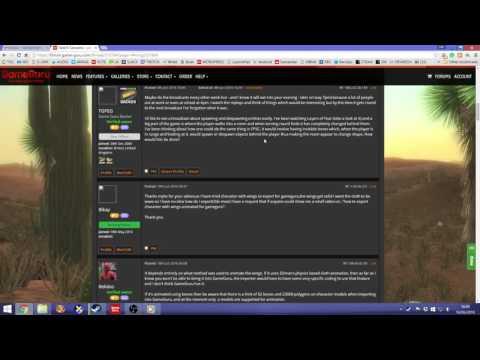 Broadcast #52 : Creating a Wanderer Script