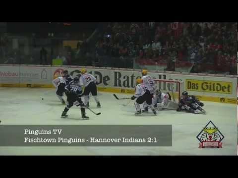 Hannover Indians - Fischtown Pinguins 3:4  n.V. ( 30.09.2012), Bericht und Pressekonferenz