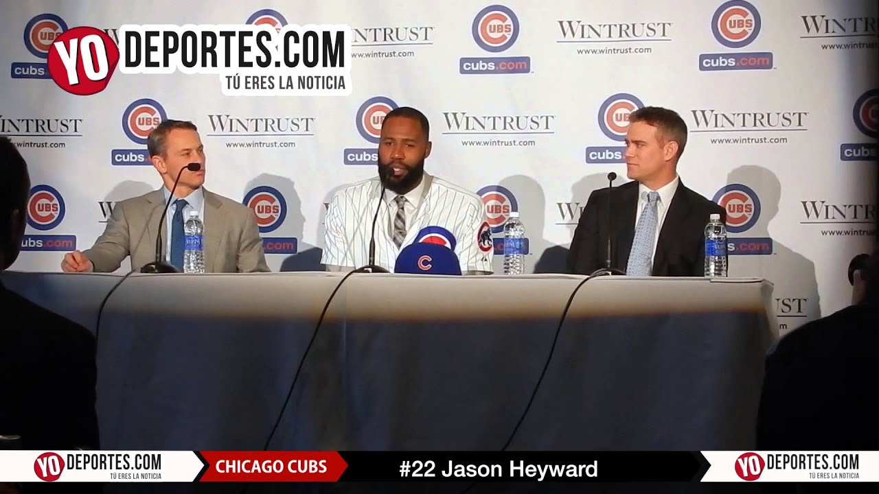 Jason Heyward signing 8-year deal Chicago Cubs - YouTube