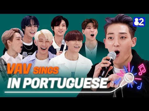"""VAV Sings """"Poison"""" In Portuguese 