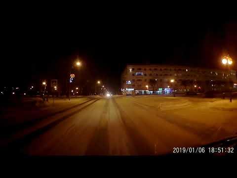 Ночная съёмка на видеорегистратор Yi Smart Dash Camera