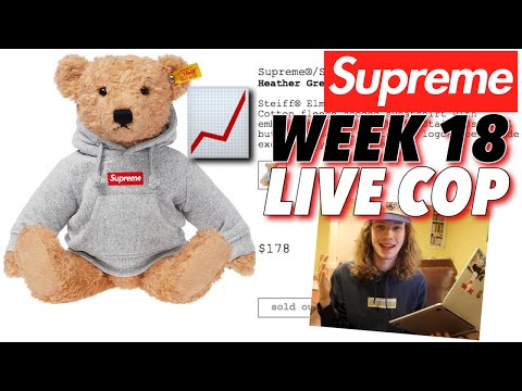 THE MOST HYPED ACCESSORY? Supreme F/W '18 Week 18 Live Cop!