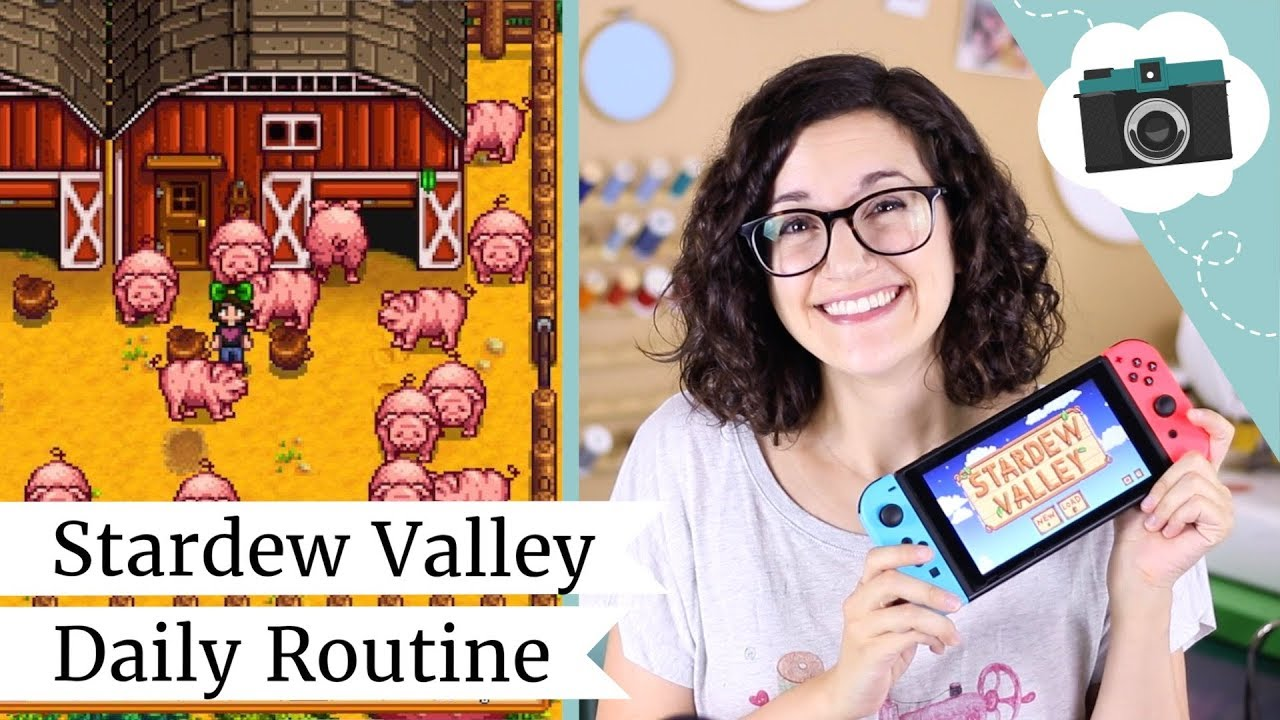 Stardew Valley Daily Routine & Review on Nintendo Switch | @laurenfairwx