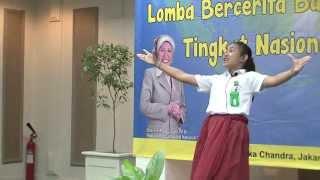 Sesilia Putri M. Grand Final 05 Lomba Bercerita Nasional SD/MI  2014