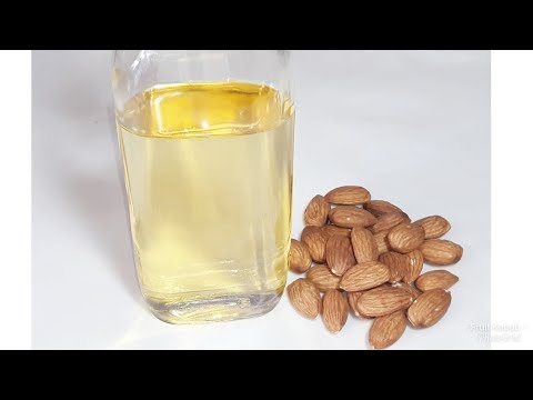 Easy Way  To Make Almond  Oil At Home/HOME MADE Almond  Oil