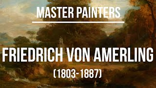 Friedrich von Amerling (1803-1887) - A collection of paintings 2K Ultra HD Silent Slideshow