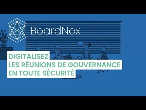 BoardNox – Digitalisez les réunions de gouvernance en toute sécurité