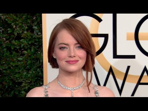 Thumbnail: Emma Stone, Ryan Gosling and more arrive at the Golden Globe Awards 2017