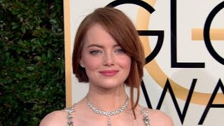 Emma Stone, Ryan Gosling and more arrive at the Golden Globe Awards 2017