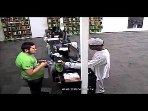 Robbery of Cricket Wireless Store in OKC