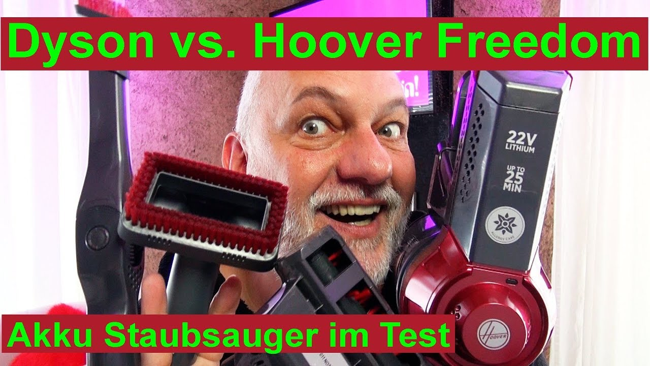 dyson vs hoover freedom akku staubsauger im test. Black Bedroom Furniture Sets. Home Design Ideas