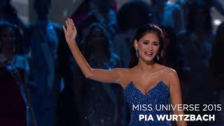 Miss Universe Final Walk Compilation