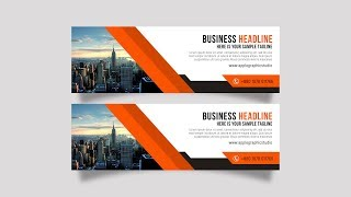 Hi everyone, in this tutorial, i have explained about design premium web banner, graphic photoshop. ▲ click here to download stock image, fonts & m...