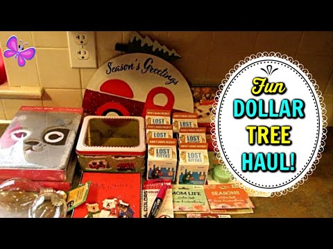 DOLLAR TREE HAUL!  New Fun Finds! Christmas Walk Through | October 18, 2019 | LeighsHome