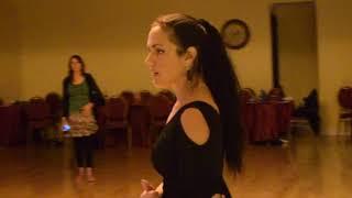 Tango Fundamental Technique 5 REVIEW - Tecnica para el Tango Clase 5 Georgina & Oscar Mandagaran